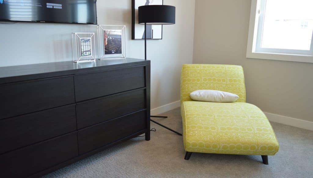 Yellow Corner Chair
