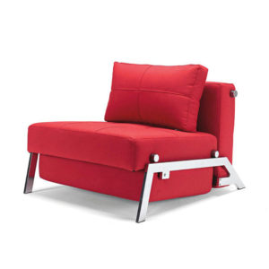 Red Single Bed Sofa